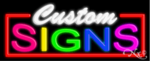 Custom Signs Business Neon Sign