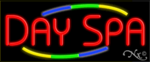 Day Spa Business Neon Sign