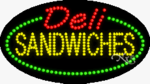 Deli Sandwiches LED Sign