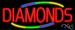 Diamonds Business Neon Sign