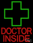Doctor Inside LED Sign