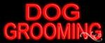 Dog Grooming Economic Neon Sign