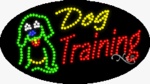 Dog Training2 LED Sign