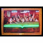 Dogs Playing Pool Neon & LED Picture