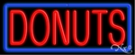 Donuts Logo Neon Sign