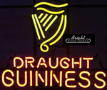 Draught Guinness Neon Sign