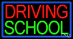 Driving School Business Neon Sign