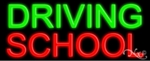 Driving School Neon Sign