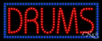 Drums LED Sign