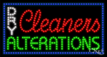 Dry Cleaners Alterations LED Sign