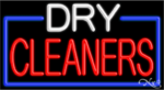 Dry Cleaners Business Neon Sign