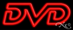 DVD Economic Neon Sign