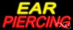 Ear Piercing Economic Neon Sign
