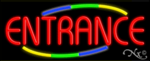 Entrance Business Neon Sign