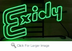 Exidy Neon Sign