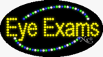Eye Exams2 LED Sign