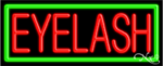 Eyelash Business Neon Sign