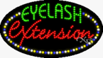 Eyelash Extension LED Sign