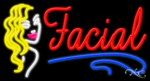Facial Business Neon Sign