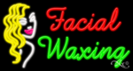Facial Waxing Business Neon Sign