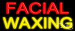Facial Waxing Economic Neon Sign