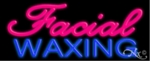 Facials Waxing Neon Sign