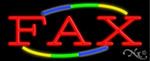 Fax Business Neon Sign