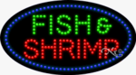 Fish & Shrimp LED Sign