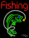Fishing LED Sign