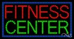 Fitness Center LED Sign