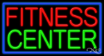 Fitness Center Business Neon Sign
