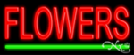 Flowers Economic Neon Sign