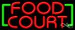 Food Court Business Neon Sign