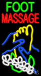 Foot Massage Business Neon Sign