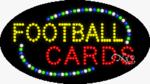 Football Cards LED Sign