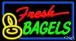 Fresh Bagels Neon Sign