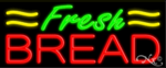 Fresh Bread Business Neon Sign