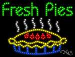 Fresh Pies LED Sign