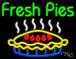 Fresh Pies Business Neon Sign