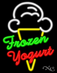 Frozen Yogurt Business Neon Sign