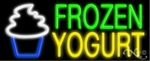 Frozen Yogurt Shop Neon Sign