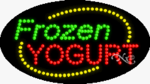 Frozen Yogurt2 LED Sign