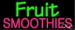 Fruit Smoothies Neon Sign