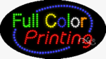 Full Color Printing LED Sign