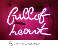 Full of Heart Neon Sign