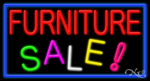 Furniture Sale Business Neon Sign