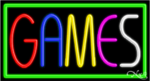 Games Business Neon Sign