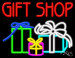 Gift Shop Business Neon Sign