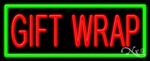 Gift Wrap Business Neon Sign