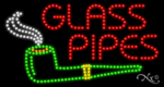 Glass Pipes LED Sign